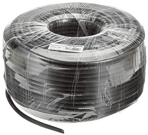 PremiumCord VGA verlengkabel 100 m, M/F, HQ (coax), SVGA Video Monitor Coaxiale kabel voor FULL HD 1080p, DDC2, zwart