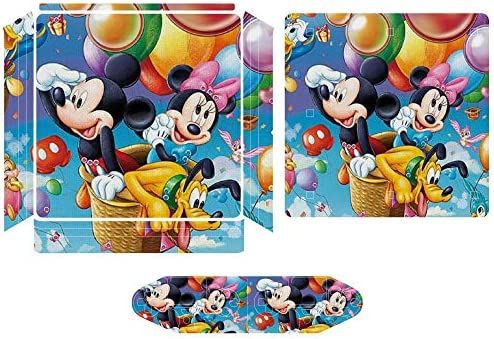 Mickey Mouse Hot Air Balloon Skins for PS4 Controller Game Console Stickers Suitable for PS4 product image