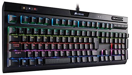 Corsair STRAFE RGB MK.2 Cherry MX Silent -日本語キーボード ゲーミングキーボード KB443 CH-9104113-JP