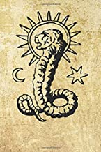 Chnoubis Lion Serpent Symbol: Blank Lined Notebook, Journal or Diary