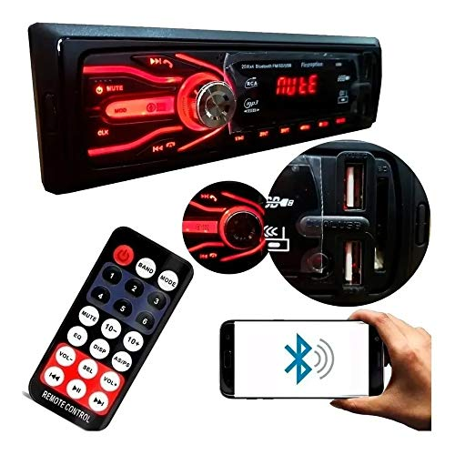 Som Automotivo Auto Rádio Bluetooth Usb Sd Fm Mp3 First Option