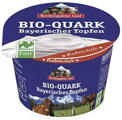 Berchtesgadener Land Bio Bio-Speisequark - Rahmstufe 50,0% Fett (6 x 250 gr)