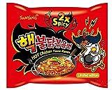 Samyang Spicy Chicken Stir Fried Noodles Ramen (2x Spicy Buldak x 1 pk)