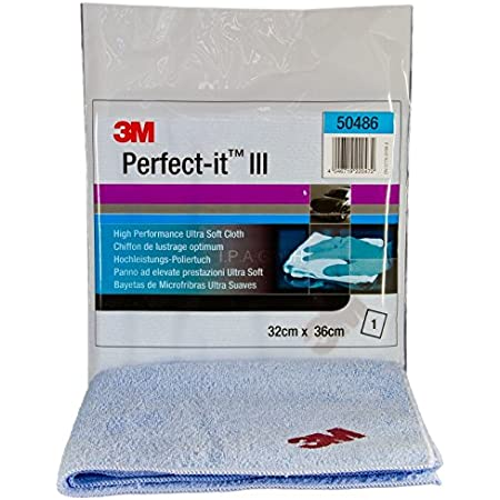 3m Perfect It Iii Anti Hologramm Poliertuch Blau 50486 Auto