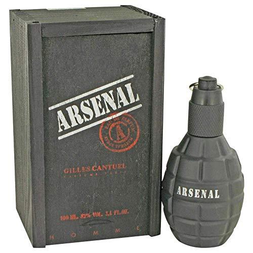 Gilles Cantuel Arsenal Black Eau De Parfum Spray 100ml