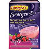 Emergen Zzzz Berry PM Nighttime Sleep Aid, 0.27 Ounce -- 24 per case.