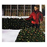Holiday Essentials 150 Net Lights - Multi Color Bulbs with Green Wire - Indoor / Outdoor Use - UL...