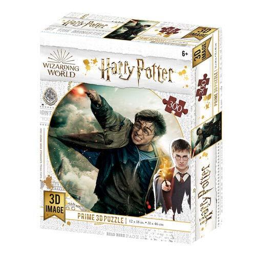 Prime 3D- Redstring-Puzzle lenticulaire Harry Potter Bataille 300 pièces (Effet 3D), lenticular Batalla 3