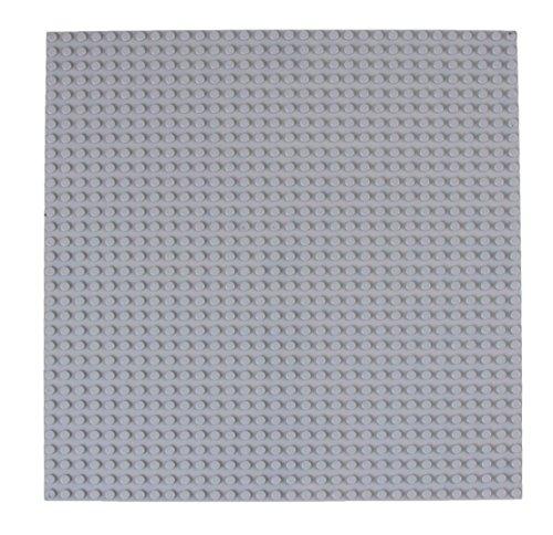 """Strictly Briks Stapelbare Premium-Bauplatte - mit Allen großen Marken kompatibel - 10 x 10"""" (25,4 x 25,4 cm)..."""