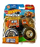 Hot Wheels Metal Monster Truck, Pack Of 1, Orange