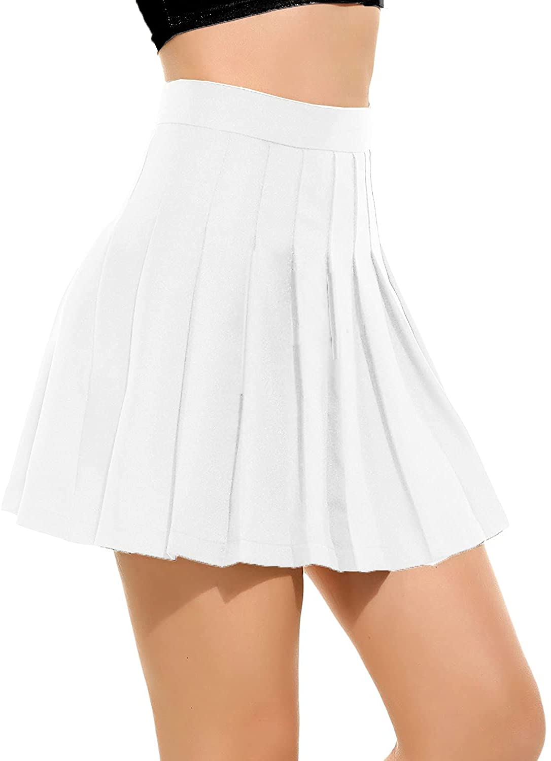 Opening large release sale Women Girls high Waisted Pleated Indianapolis Mall Unif Tennis School Skirt Skater