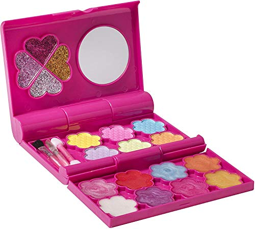 Playkidz - My First Princess Makeup Set - Fashion Makeup Cosmetics Palette with A Mirror for Girls
