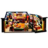 LOSGO Kit de iluminación Compatible con Lego 21319 Friends Central Perk Ideas (Modelo Lego no Incluido)