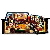LOSGO Kit de iluminación Compatible con Lego 21319 Friends Central Perk Ideas (Modelo Lego no Incluido)
