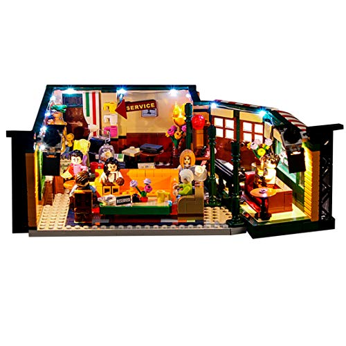 POXL Conjunto de Luces per Lego Friends , Kit de Luz LED Light Compatible con Lego 21319 - No Incluye el Modelo
