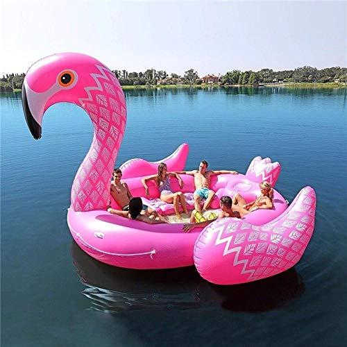 inflatable toys Einhorn riesigen Flamingo schlauchboot geeignet für 6 Personen Pool Party Float Ball luftmatratze schwimmring Spielzeug Schwimmende Reihe - 530 * 450 * 250cm B