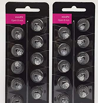 Oticon Minifit Open 8mm Dome  20 PACK