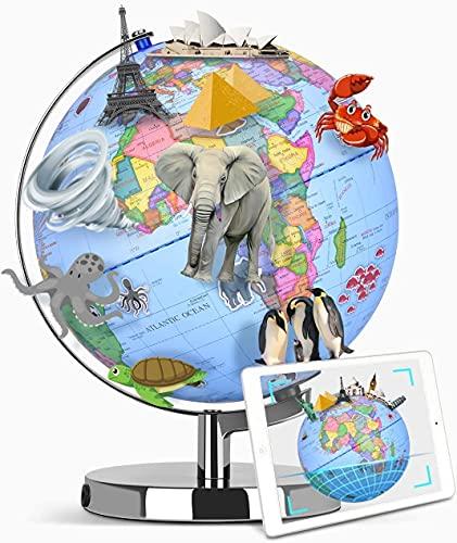 Augmented Reality Smart Globe