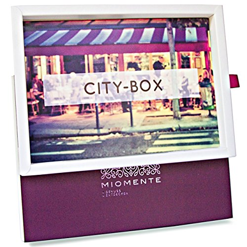 Miomente City-Box: Kulinarische Stadtführung-Gutschein - Geschenk-Idee Erlebnisgutschein