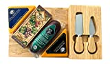 Gourmet Cheese and Meat Board Gift Basket Box Set