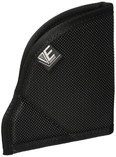 Elite Survival Pocket Holster for Ruger LCR and 2-Inch J Frame Revolvers, Black