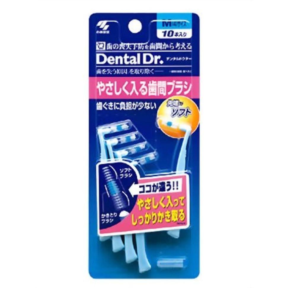 広々送金絶妙Dental Dr. やさしく入る歯間ブラシ M 10本入