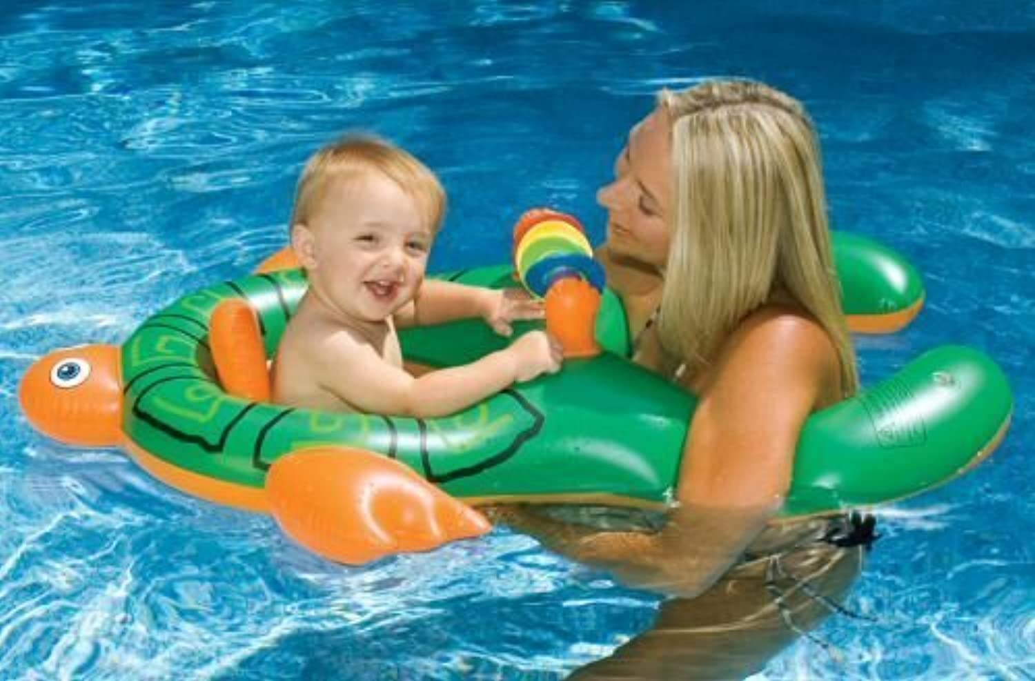Inflatable Me & You Baby Pool Float goldfish by Not Found