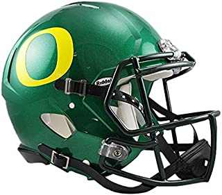 Riddell Sports NCAA Oregon Ducks Speed Authentic Helmet, Green