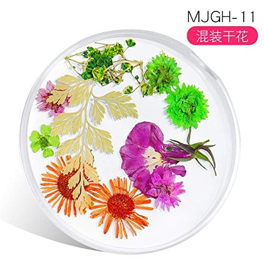 真珠のような誰の注釈Murakush ネイルアート ネイル装飾 ドライフラワー 美しい 新鮮な花 レースの花 オーナメント 可愛い 手作り 高校生 Mixed dried flowers -11