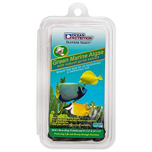 Ocean Nutrition Seaweed Selects Green Marine Algae 10-Sheets 1.0-Ounces (30 Grams)
