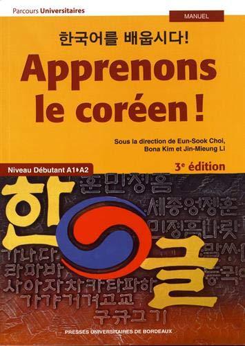 Apprenons le coréen ! : Niveau débutant A1A2