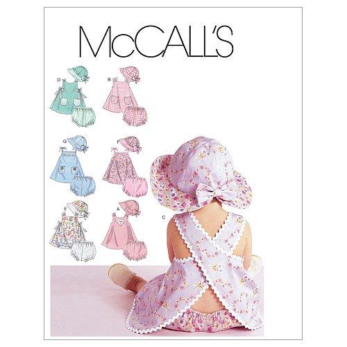 McCall's 6303 - Patrón de Costura para Confeccionar Ropa de bebé (Varios Modelos)