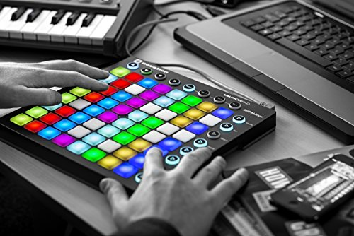 Novation Launchpad Ableton Live Controller with 64 RGB Backlit Pads (8x8 Grid)