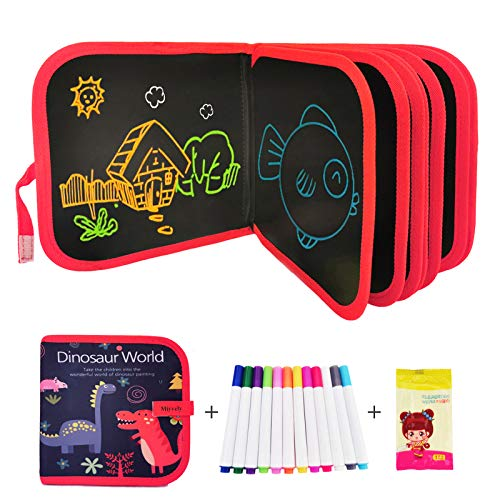 Miyvely Erasable Drawing Pad Toys,Reusable Drawing Doodle Book for Kids Toddlers Activities Graffiti Game Portable Magna Writing and Painting Board Set for Boys Girls Age 3 Years+
