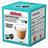 40 Capsule compatibili Nescafè Dolce Gusto Ristora Cappuccino decaffeinato Senza LATTOSIO (10cps. * 4 scatole)