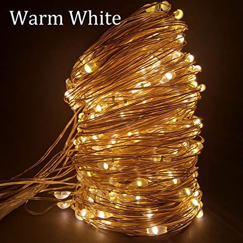 Neaer Lámpara, LED luces LED Cadena de Luces Decoración de Navidad Control Remoto USB Boda Guirnalda Cortina 3M Lámpara de Vacaciones Para Dormitorio Bombilla Al Aire Libre de Hadas Luces