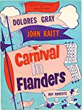 Carnival in Flanders (Original program from the 1953 play)