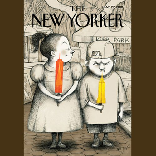 The New Yorker, May 27th 2013 (Jeffrey Toobin, Tad Friend, James Surowiecki) audiobook cover art