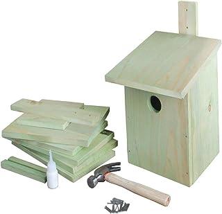 Biberschwanz Vogelhaus Bausatz Kinder,Vogelhaus Groß Bausatz Bastelset