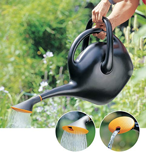 Bloem Easy Pour Watering Can, 2.6 Gallon, Black (20-47287CP)