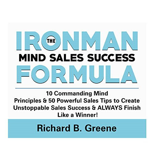 The IronMan Mind Sales Success Formula audiobook cover art