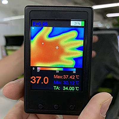 S28esong Thermal Imager,HY-18 Color Display Infrared Temperature Sensor Digital Thermal Imager Professional,80 x 50 x 26 mm