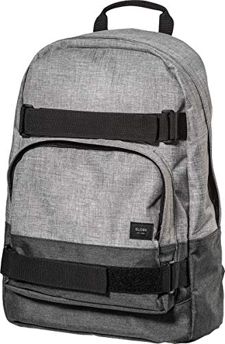 Globe Unisex-Erwachsene Thurston Backpack Tagesrucksack, Grau (Grey/Charcoal), 15x24x45 Centimeters (W x H x L)