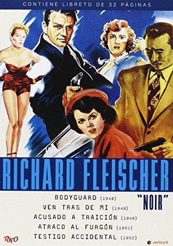 Bodyguard + Follow Me Quietly + The Clay Pigeon + Armored Car Robbery + The Narrow Margin (Region 2) Richard Fleischer : Film Noir