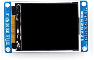 ZZALLL1.8 128x160 SPI Color TFT LCD Pantalla Módulo ST7735S Chip Fuente de alimentación