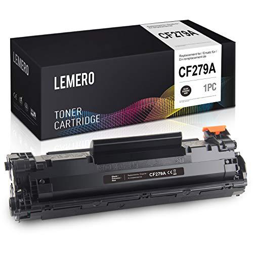 LEMERO CF279A Schwarz Toner Kompatibel für HP 79A CF279A für HP Laserjet Pro M12 M12W M12A M26 M26A M26NW,1Pack