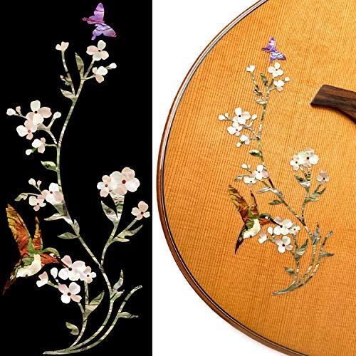 Inlay Sticker Decals for Guitar Bass - In The Garden