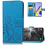 COTDINFOR Compatible with LG K42 Cover Flip Case Lucky