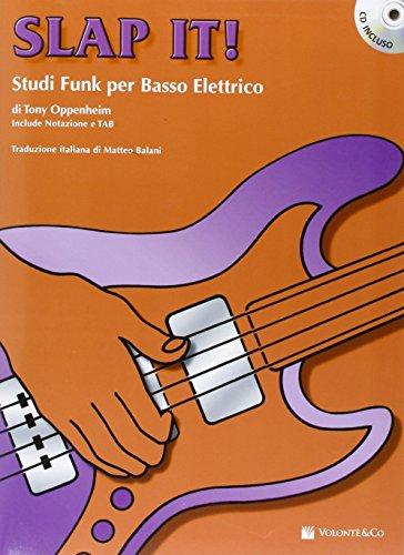 Slap it! Studi funk per basso elettrico. Con CD Audio (Didattica musicali)