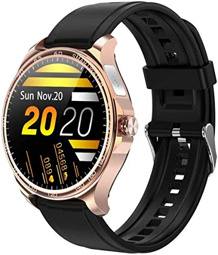 JSL Smart Watch 1 3 pulgadas de alta definición Full Touch Ips Pantalla a color de llamada entrante recordatorio de llamada Bluetooth llamada para Android y iOS Gold